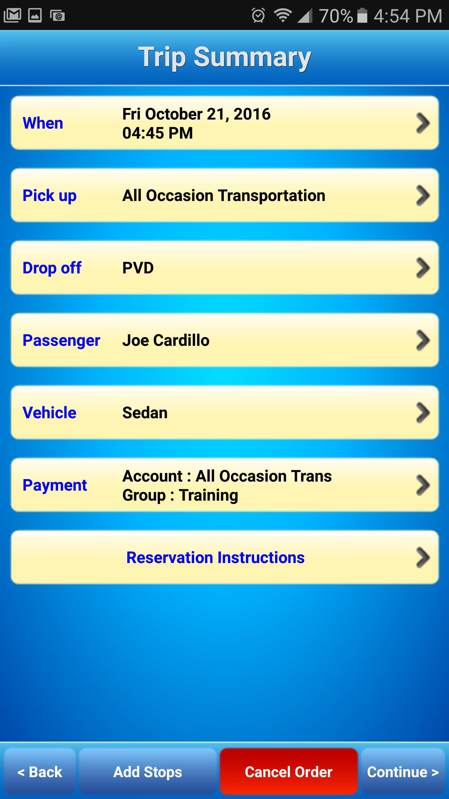 iLivery App